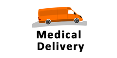 Medical Delivery, MA, RI, NH, ME