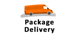 Package Delivery, MA, RI, NH, ME