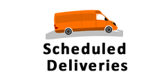 Scheduled Deliveries, MA, RI, NH, ME